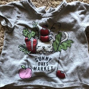 Girls top size 12 months